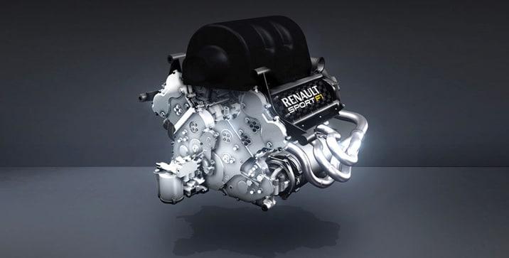 01 Renault F1 Motor 2014
