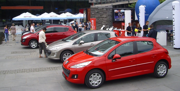 Peugeot road show