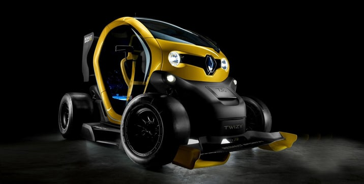 Renault Twizy RS F1 Concept 2013