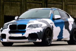 BMW X6M Stealth Inside Performance