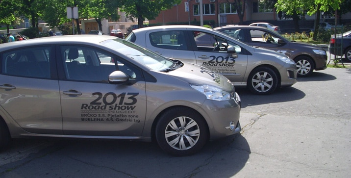 Peugeot Road Show 2013
