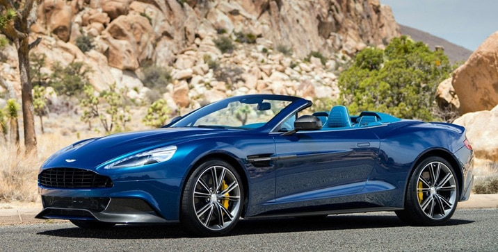 Aston Martin - Vanquish Volante 2014