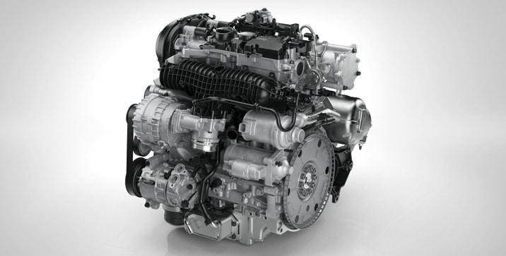 Volvo Drive-E motori