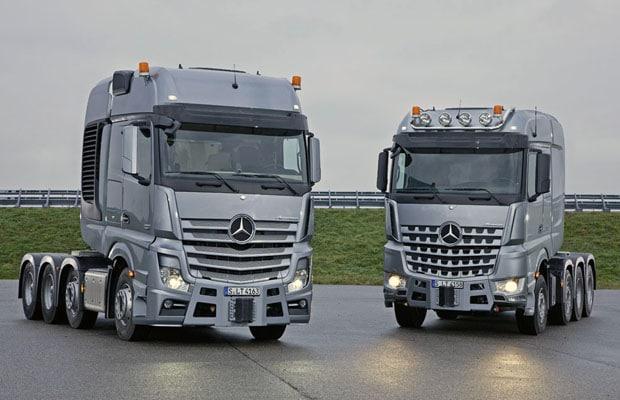 Mercedes-Benz Actros 4163 SLT & Mercedes-Benz Arocs 4158 SLT