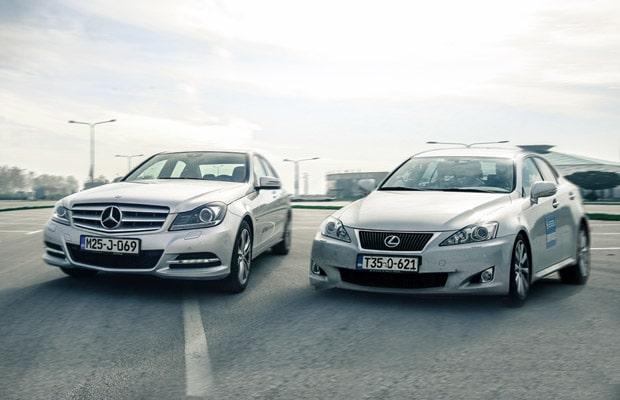 Mercedes C 220 CDI 2012 vs lexus IS220d
