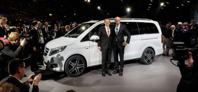 Predstavljen Mercedes-Benz V-klase – Redefinicija MPV-a