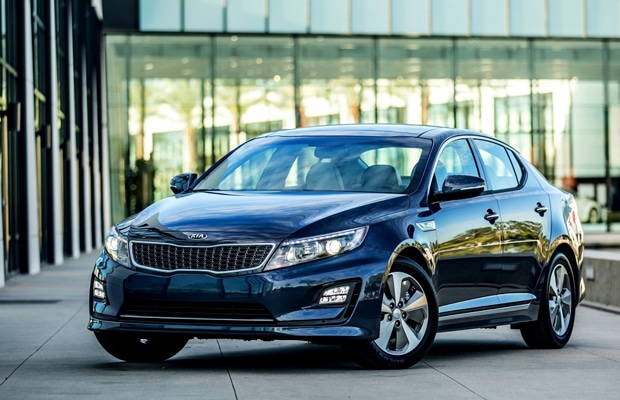 Kia at Geneva Motor Show (Upgraded Optima Hybrid) EUROPE (Medium)