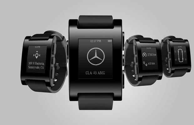 Mercedes i Pebble Technology C -01