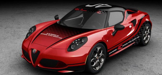 Alfa Romeo 4C bit će FIA WTCC Safety Car