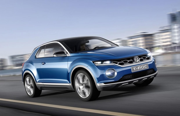 Volkswagen T-ROC koncept_