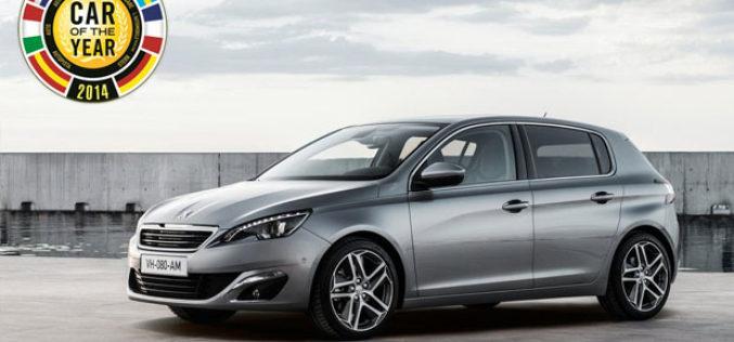 Novi Peugeot 308 automobil godine za 2014.