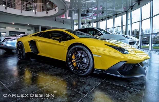 Carlex Design Lamborghini Aventador Anniversario 01