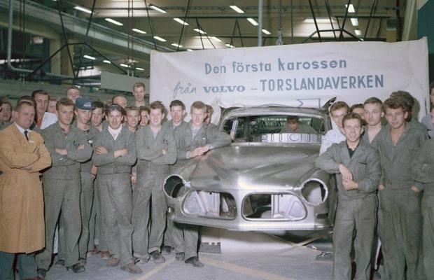 Volvo Car Torslanda slavi 50 godina