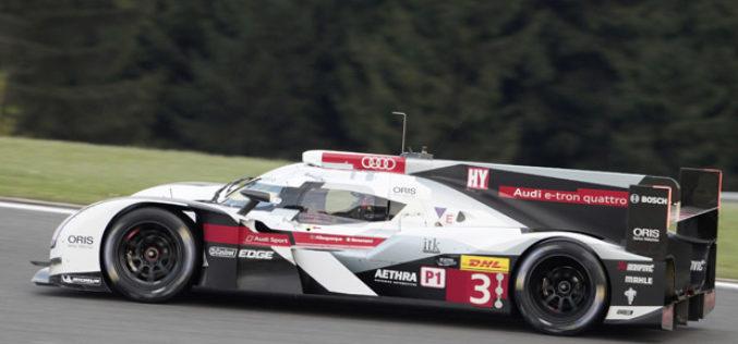 Audi R18 e-tron quattro spreman za službeno testiranje u Le Mansu