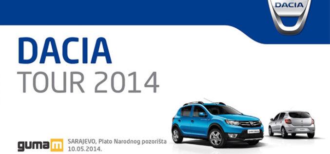 Dacia automobili putuju kroz BiH