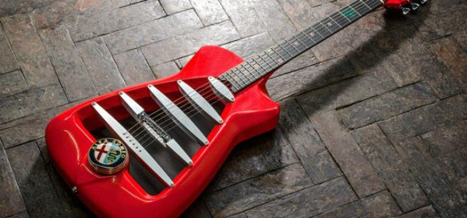 Alfa Romeo – Inspiracija za gitaru