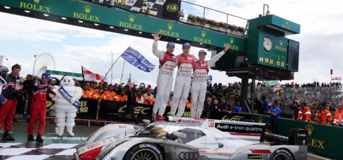 Le Mans 2014: Audi slavi 13-tu pobjedu nakon neizvjesne utrke!