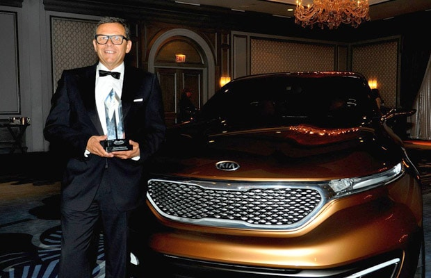 Kia  Motors Peter Schreyer EOD Lifetime Achievement Award (Medium)