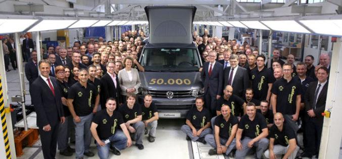 Proizvedeno 50.000 Volkswagen T5 California