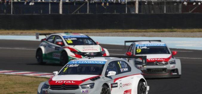 Citroën osvojio Svjetsko prvenstvo FIA WTCC