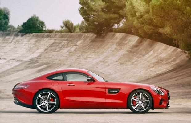 Mercedes AMG GT 2016 - 04