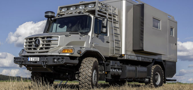 Mercedes-Benz Zetros mobile home