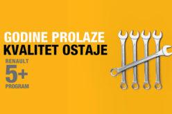 Renault servisni program 5+