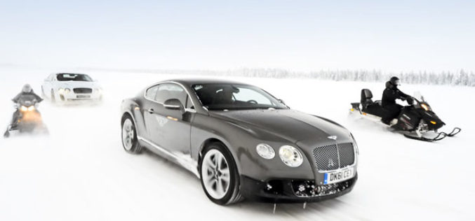 Bentley Continetal GT3 – Power on Ice
