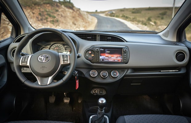 Test Toyota Yaris facelift 2014 - 620 - 06