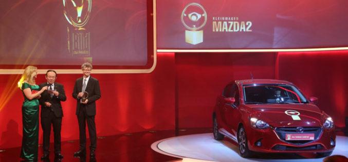 Zlatni volan u kolekciji trofeja Mazde2