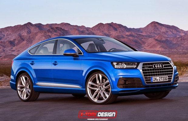 Audi Q8 render 2014