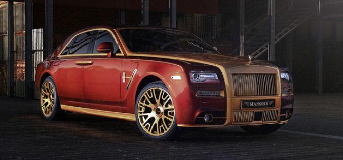 Mansory Rolls Royce Ghost Series II