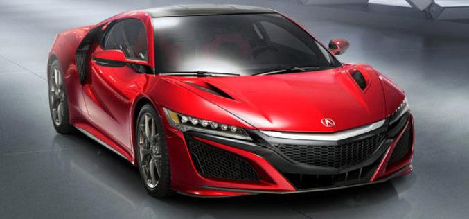 Acura NSX – Nova supercar generacija