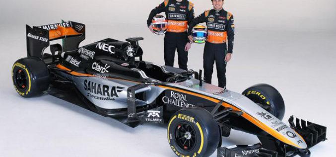 Force India predstavila kolornu šemu za sezonu 2015.