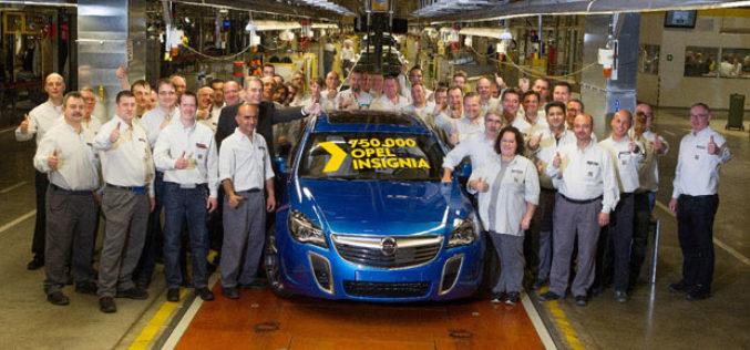 Opel Insignia – Proizvedeno 750.000 primjeraka