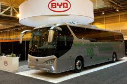BYD C9 – Prvi turistički autobus na električni pogon