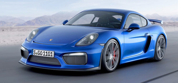 Predstavljen Porsche Cayman GT4 model sa 385 KS
