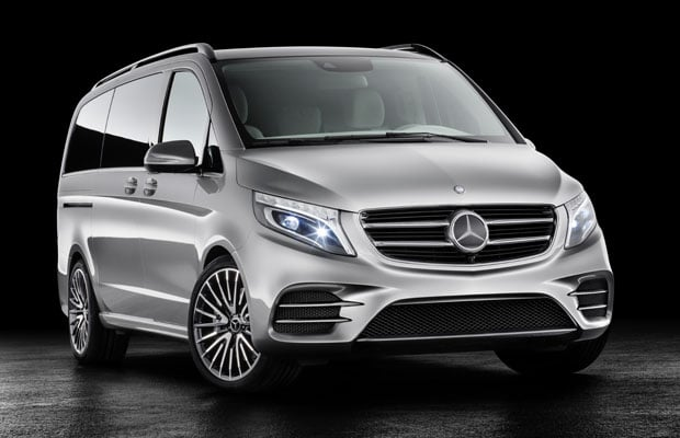 Mercedes-Benz Concept V-ision e with PLUG-IN HYBRID