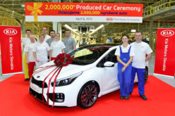 Kia dostigla novu evropsku proizvodnu prijelomnicu – 2.000.000 vozila