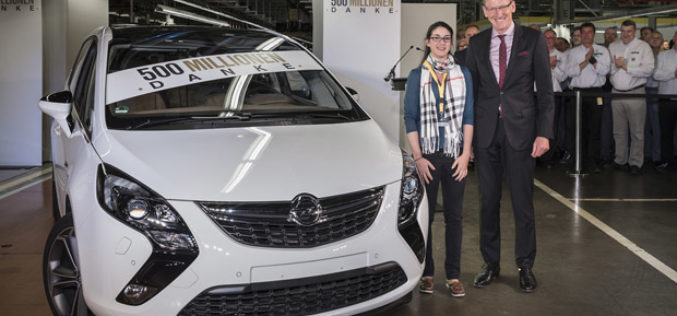 Opel i GM zahvaljuju 500 milijuna puta