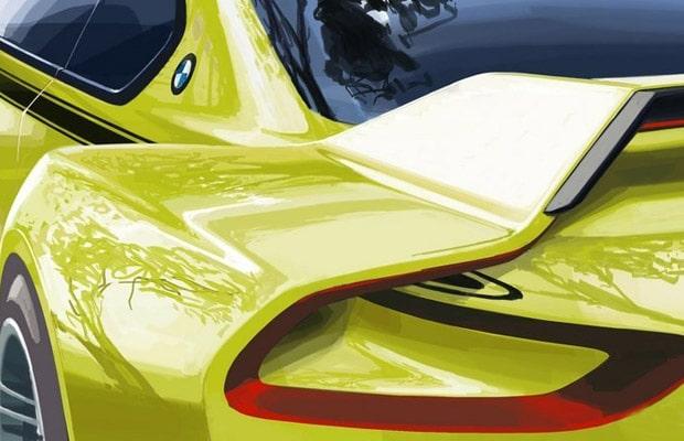 Teaser BMW 3.0 CSL Hommage