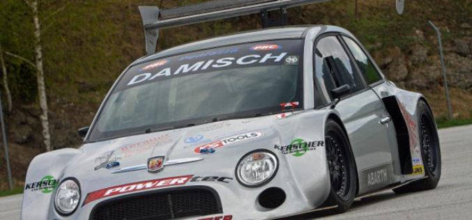 Georg Pacher Fiat 500 PRC-Abarth Race Car