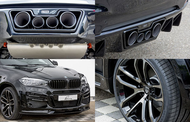 BMW X6 LUMMA CLR X6R Wide body - 04