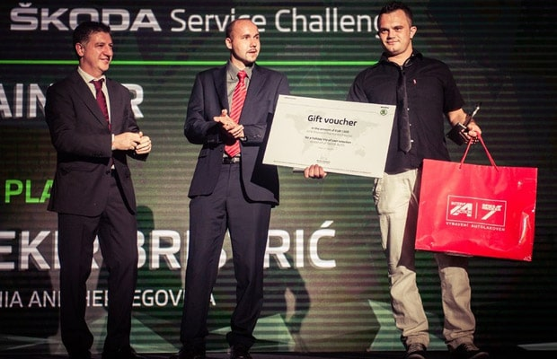 Skoda Service Challenge 2015