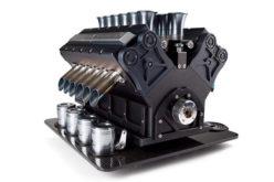 Espresso Veloce Serie Titanio V12 – Kafe aparat inspirisan Formulom 1