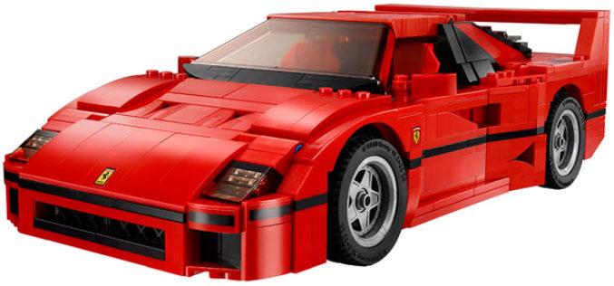 LEGO Ferrari F40 – Igračka za obadrane
