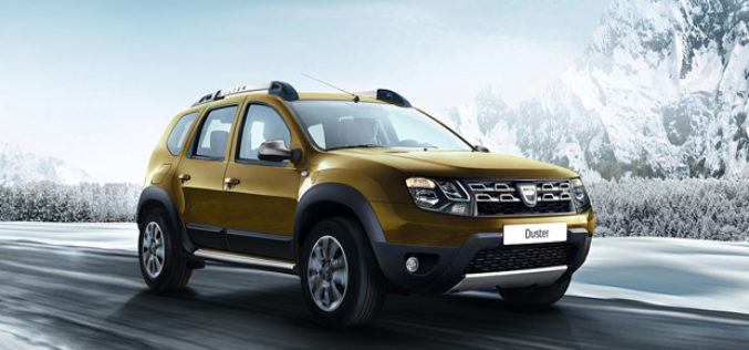 Dacia predstavlja DUSTER za 2016: Nova oprema, stilske nadogradnje i ekonomičniji motori