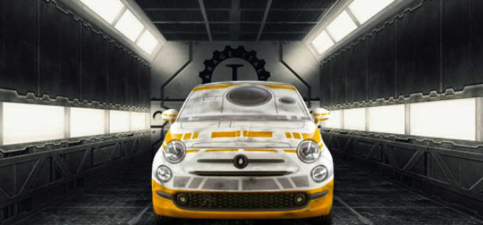 Fiat 500 Garage Italia Customs – Star Wars saga