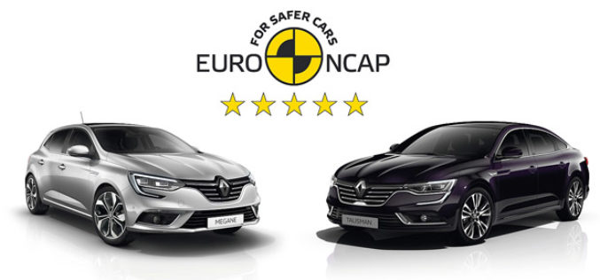 Novi Renault Megane i Talisman osvojili 5 zvjezdica za sigurnost