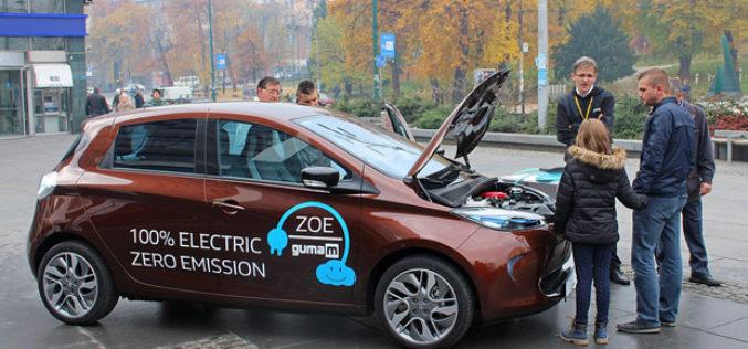 Električni Renault ZOE na ulicama bh gradova